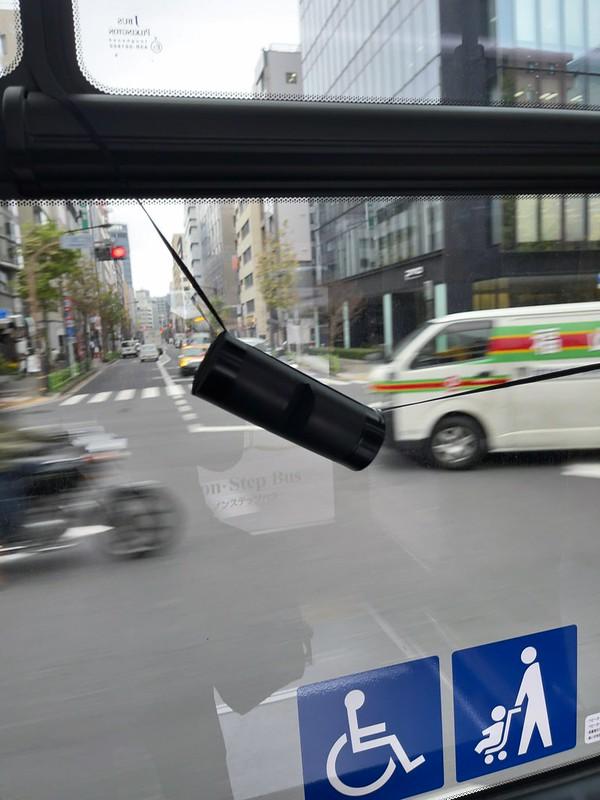 Toei Bus window