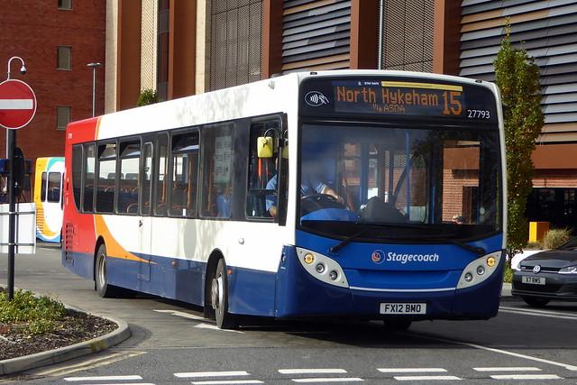 2012 Alexander-Dennis Enviro300 - 27793 / FX12 BMO - Stagecoach East Midlands - Lincoln 03Nov20