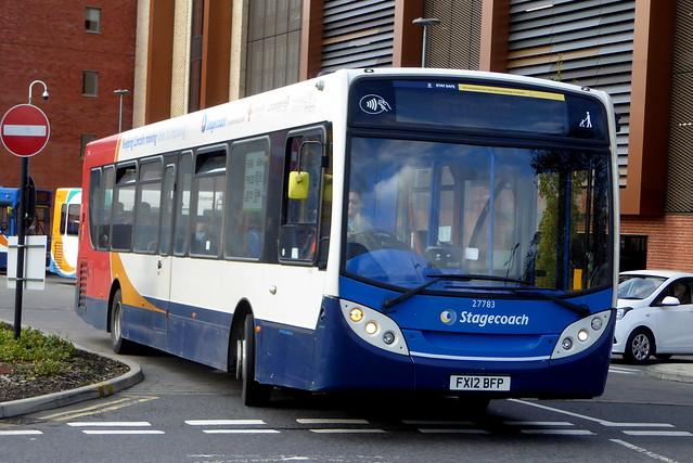 2012 Alexander-Dennis Enviro300 - 27783 / FX12 BFP - Stagecoach East Midlands - Lincoln 03Nov20