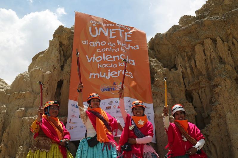Cholitas Escaladoras de Bolivia