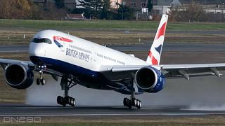 British Airways A350-1041 msn 446 F-WZHD / G-XWBH