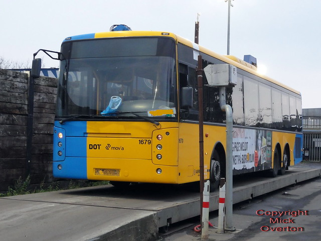 2007 Volvo B12BLE Arriva 1679 is weighed in for scrap