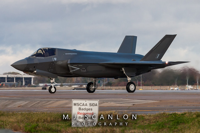 ZM154 Royal Air Force | Lockheed Martin F-35B Lightning II | Memphis International Airport