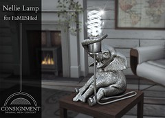 Nellie Lamp @ Fameshed