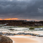 5. Detsember 2020 - 5:39 - Overcast sunrise seascape at North Avoca Beach on the Central Coast, NSW, Australia.