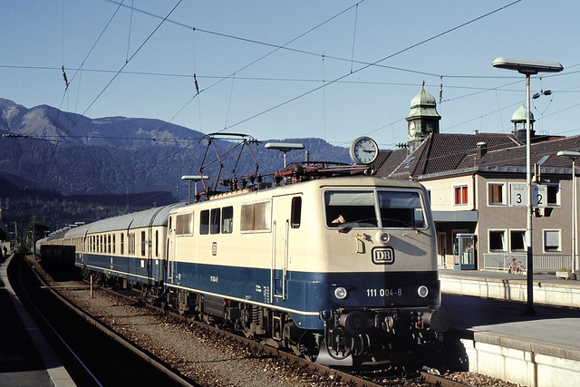 DB 111 004 Bf Garmisch-Partenkirchen 10.10.1978