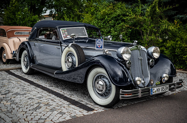 a wonderful classic HORCH Convertible [on Explore at 05/12/2020]