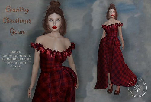 Dreamy December 5 - Country Christmas Gown