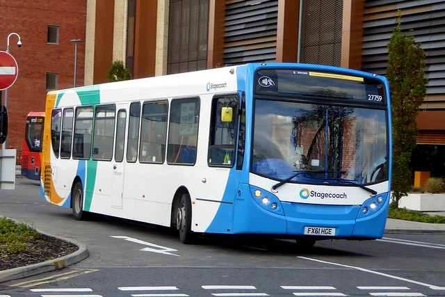 2011 Alexander-Dennis Enviro300 - 27759 / FX61 HGE - Stagecoach East Midlands - Lincoln 03Nov20