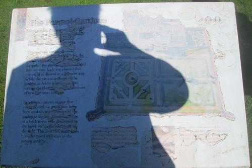Shaded Information Board, Ashby de la Zouch Castle