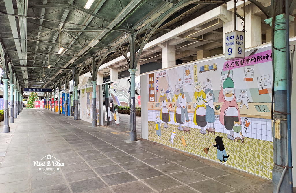 貓小姐Ms.Cat插畫特展.台中火車站30