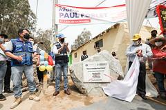 041220 Alcalde Jorge Muñoz inaugura av Poblet que une Pachacamac con Cineguilla 012