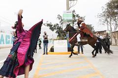 041220 Alcalde Jorge Muñoz inaugura av Poblet que une Pachacamac con Cineguilla 001
