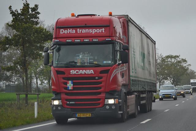 Scania R450 DEHA Oude Pekela