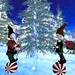 Flurries 'n Fun Winter Wonderland -Juggle Balls With a Cane Do Attitude