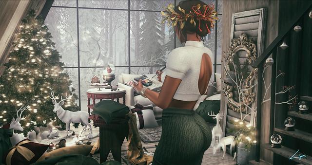 Painting Christmas