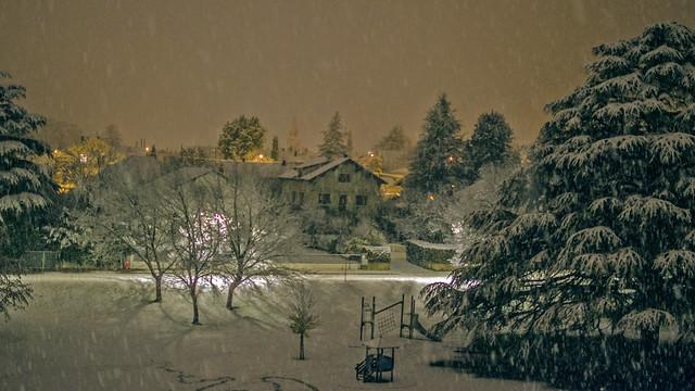 Toute première neige.
