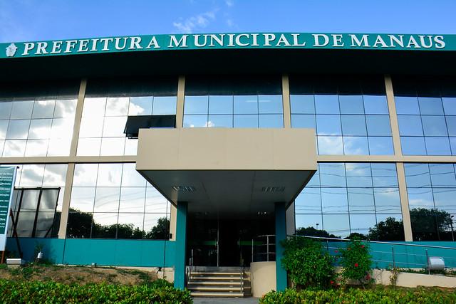 04.12.2020 UFM Fachada da Sede da Prefeitura de Manaus