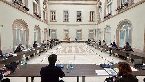 Reunió de la taula de grups i Govern sobre les eleccions