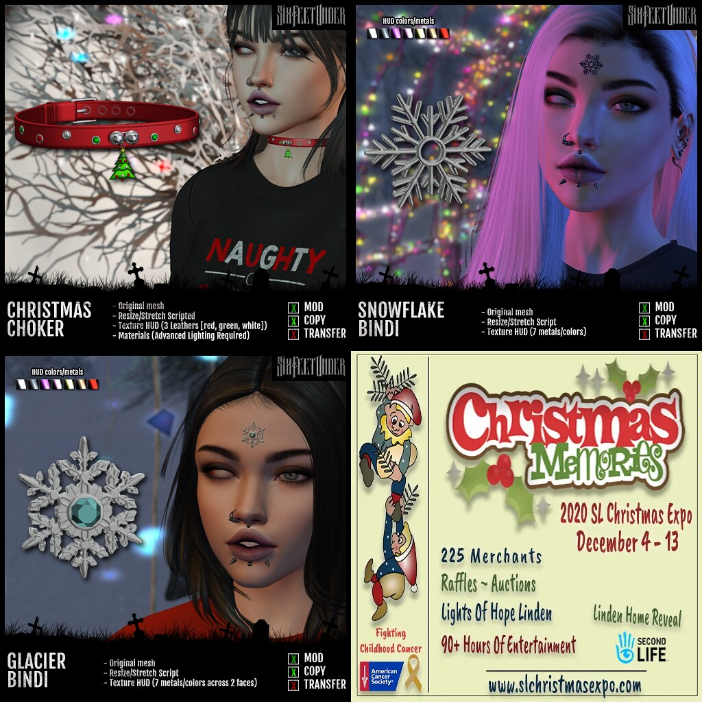 Six Feet Under at The Christmas Expo 2020