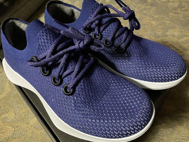 Carbon neutral running shoes? Giving them a shot. #Allbirds