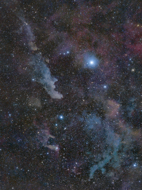 Witch Head Nebula widefield