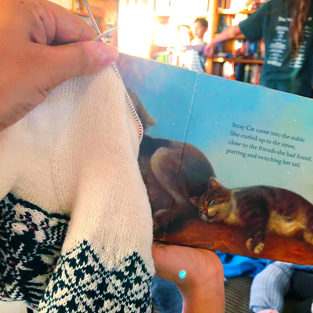 Homeschooling and Knittng