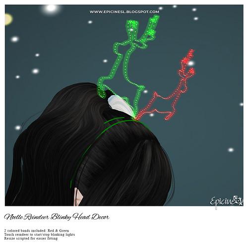 Epicine - Noelle Reindeer Blinky Head Decor Ad