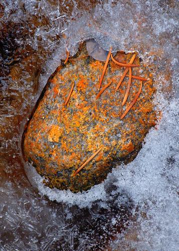 eechillington nikond7500 viewnxi hiking ice nature rock winter texture patterns bellscanyon utah