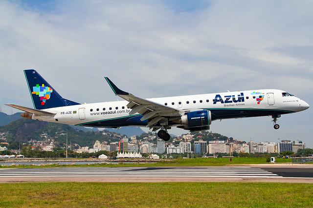 Azul Embraer 190 PR-AZE