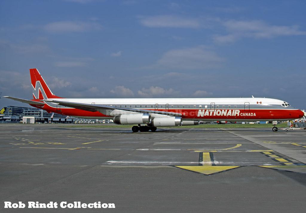 Nationair Canada DC-8-63 C-GQBA