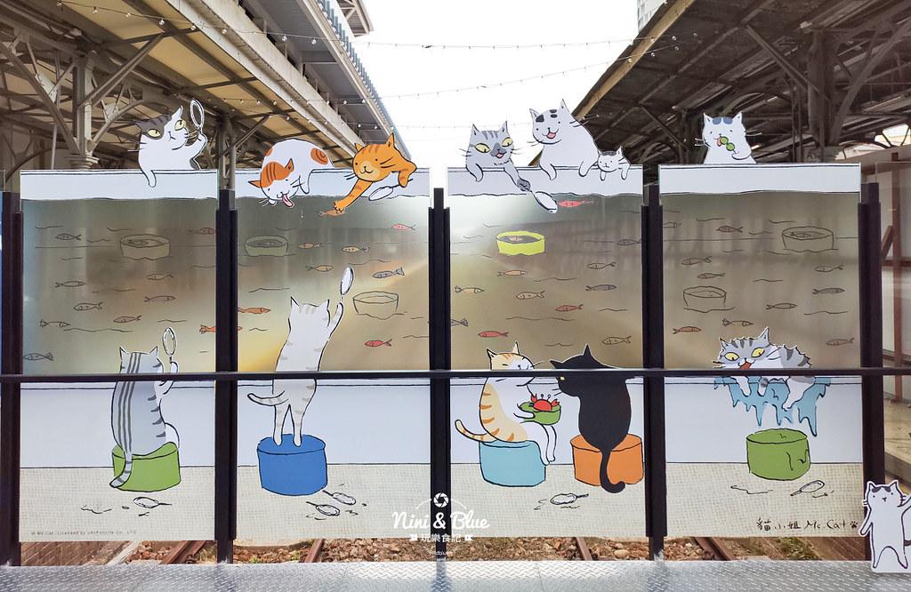 貓小姐Ms.Cat插畫特展.台中火車站11