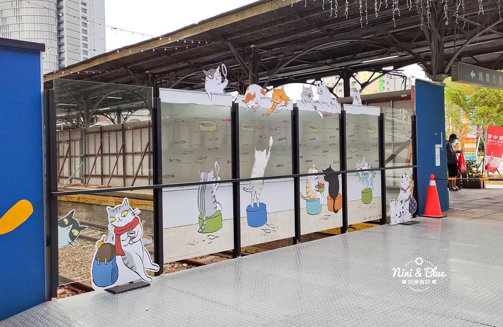 貓小姐Ms.Cat插畫特展.台中火車站10