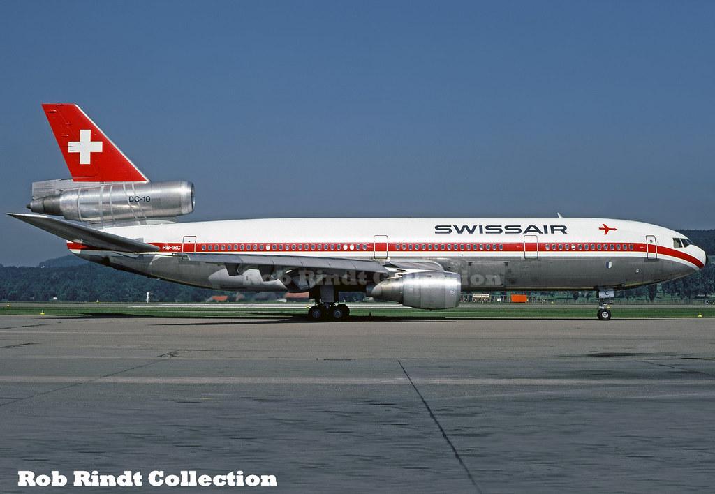 Swissair DC-10-30 HB-IHC