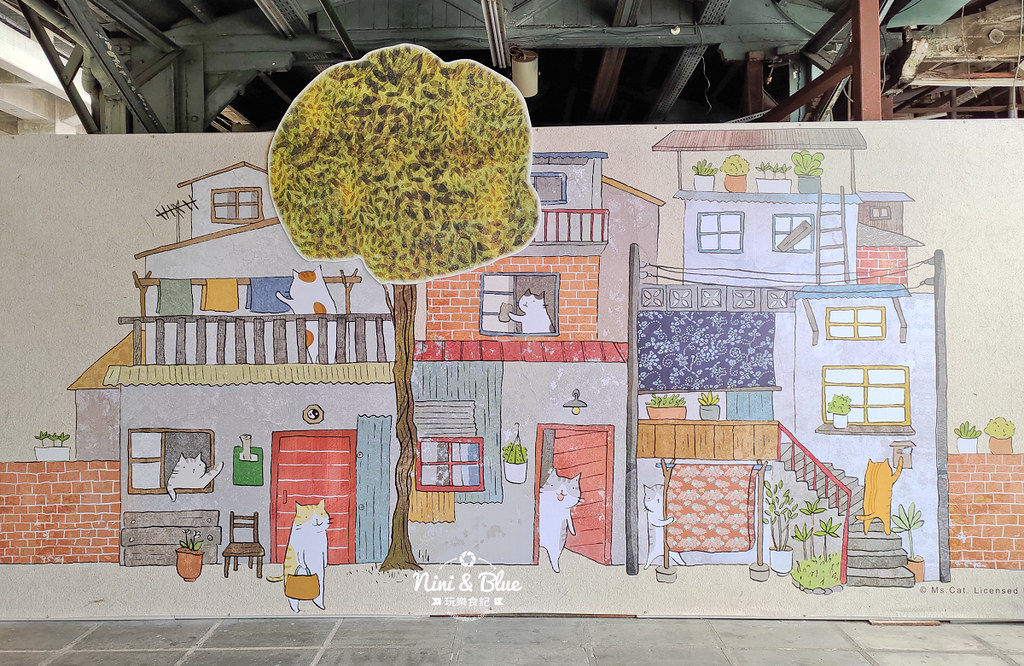 貓小姐Ms.Cat插畫特展.台中火車站29