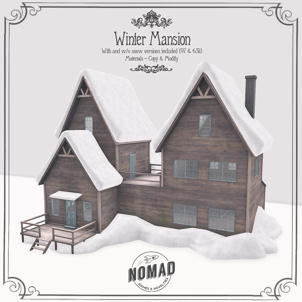NOMAD // Winter Mansion