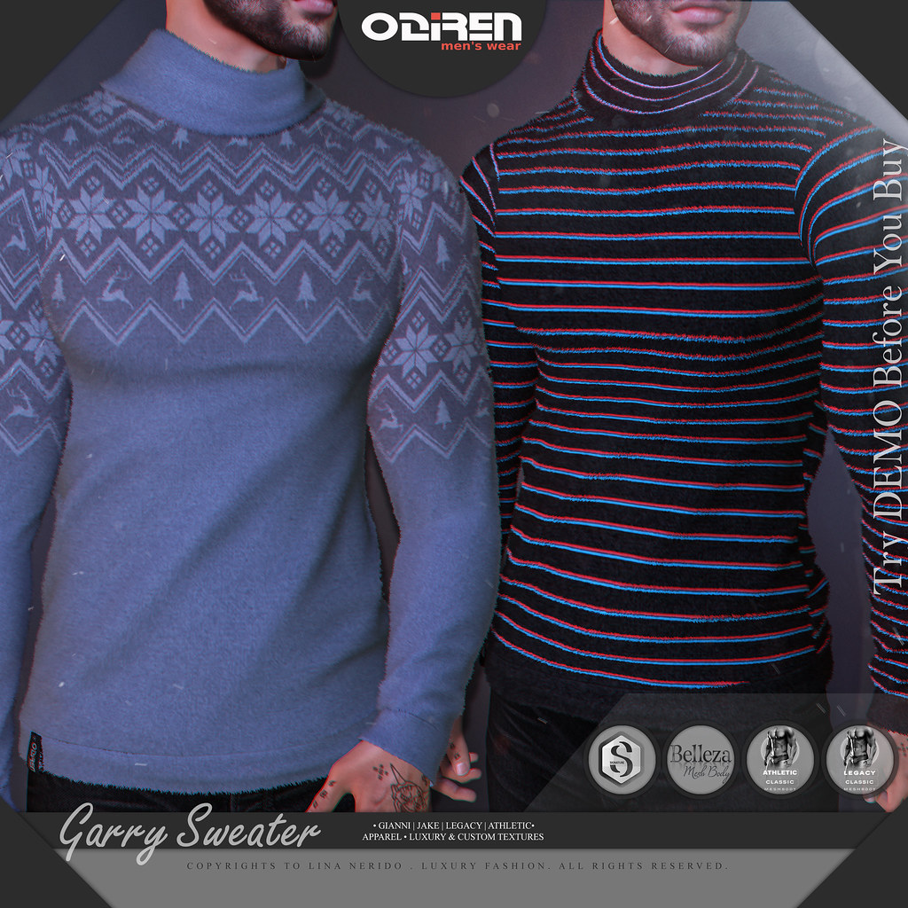 ODIREN-Garry Sweater