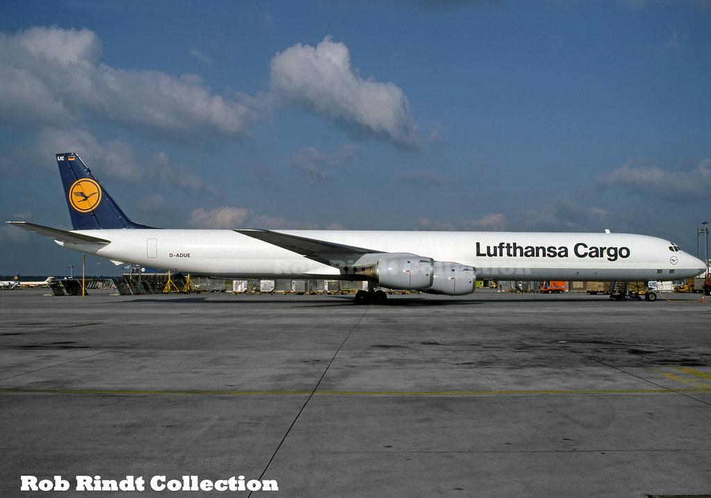 Lufthansa Cargo DC-8-73(AF) D-ADUE