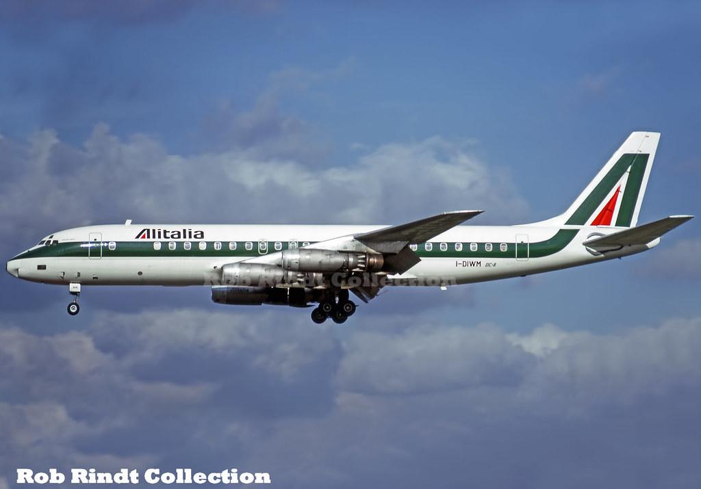 Alitalia DC-8-43 I-DIWM