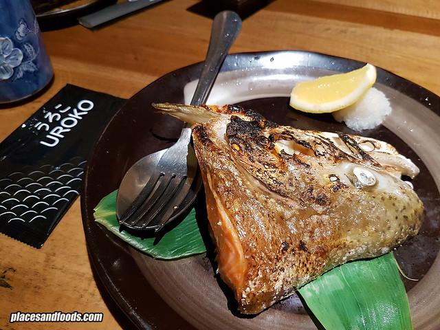 uroko salmon head