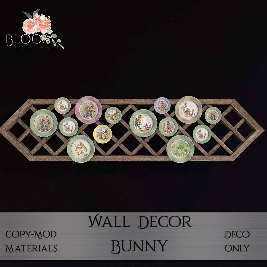 Bloom! – wall deco BUnnyAD