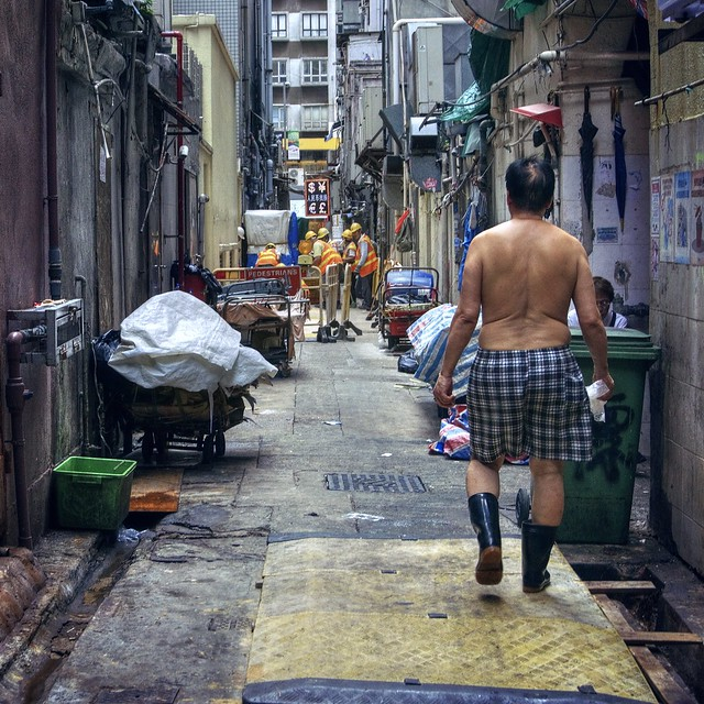 Hong Kong back alley
