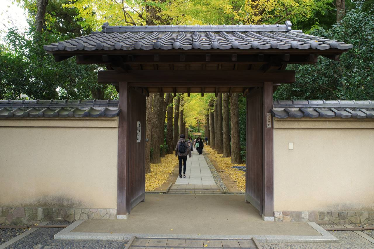 大田黒公園入口