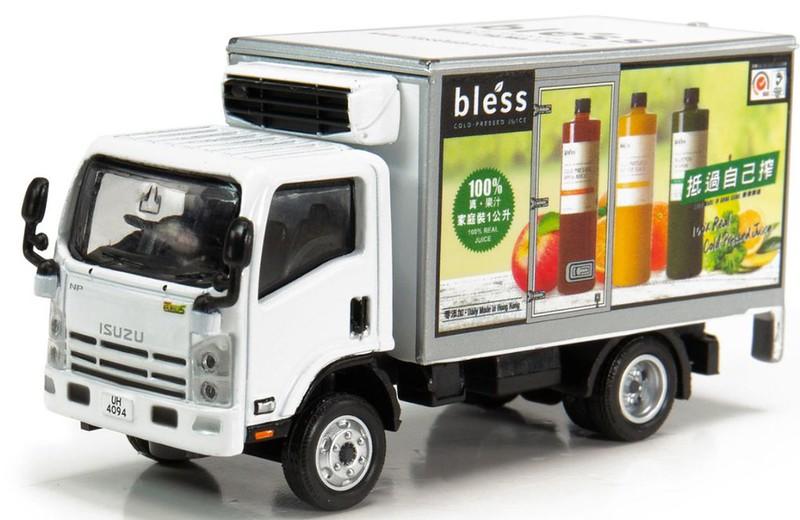 ISUZU N Series Bless Freezer Truck 五十鈴N系列 Bles Tiny City 67 Die-cast Model Car