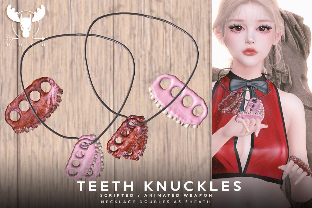 -MUSU- Teeth Knuckles @ WLRP