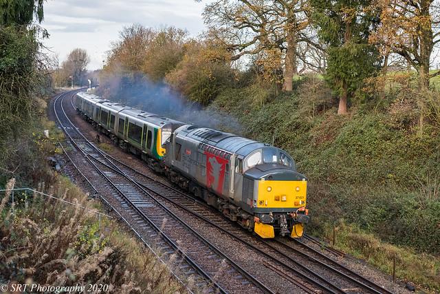 37601 at Norton Junction [5Q94] 04.12.2020