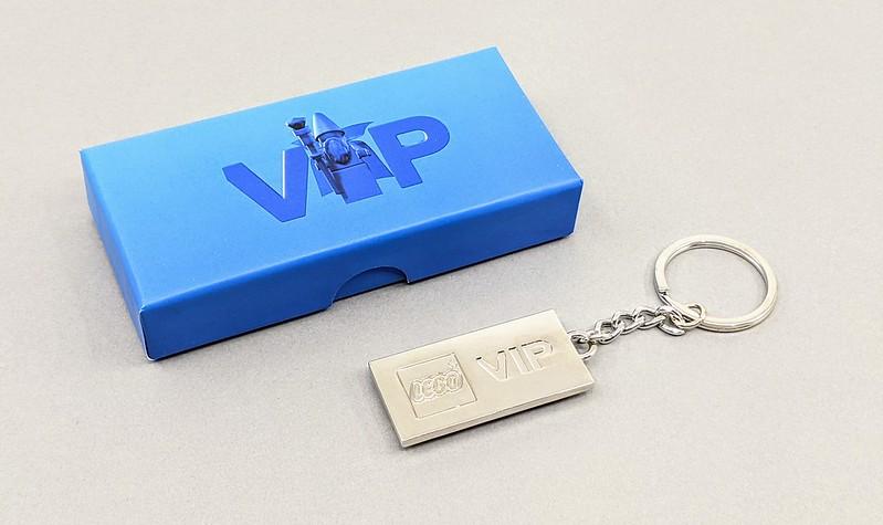 LEGO VIP Metal Keychain