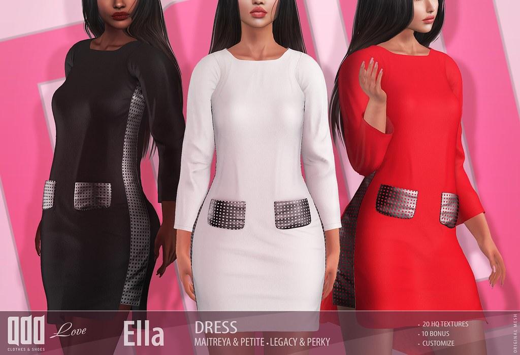 New release – [ADD] Ella DressElla Dress