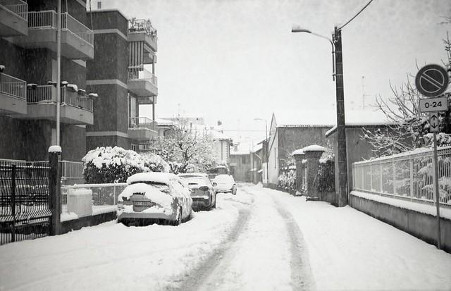 Via De Berris (verso Nord).