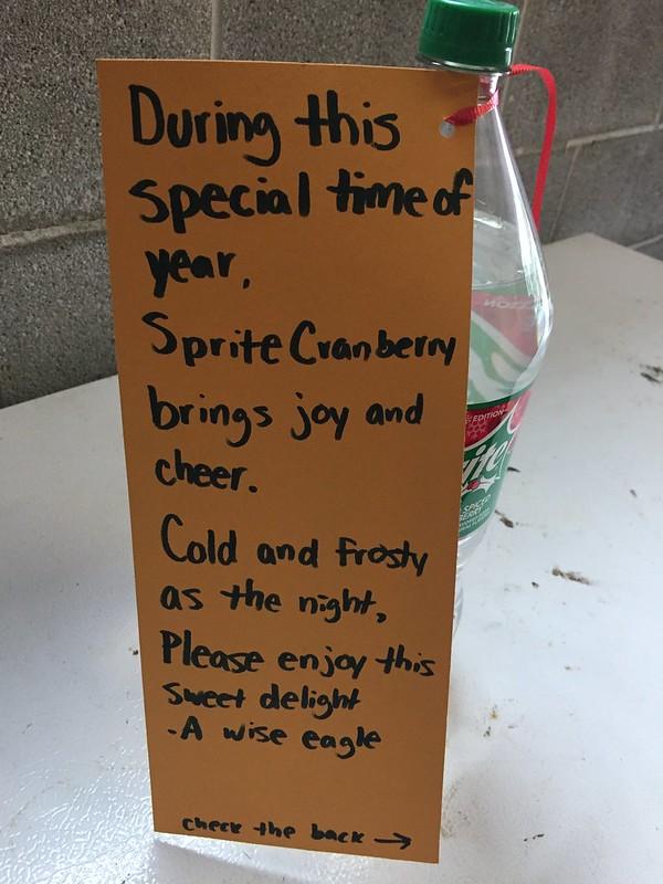 Sprite Cranberry Poem
